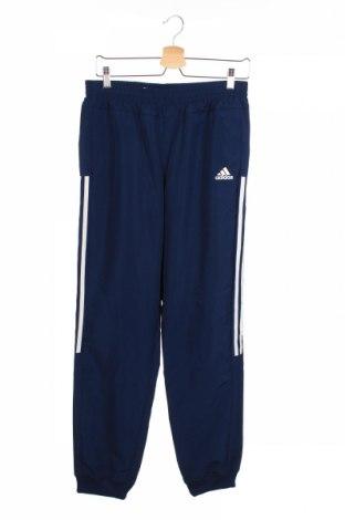 Παιδική κάτω φόρμα Adidas, Μέγεθος 14-15y/ 168-170 εκ., Χρώμα Μπλέ, Πολυεστέρας, Τιμή 14,81€