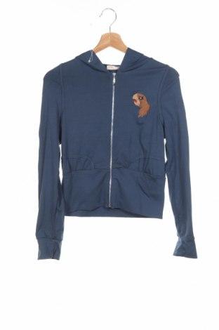 Dětská mikina , Rozměr 13-14y/ 164-168 cm, Barva Modrá, 65% bavlna, 35% polyester, Cena  453,00Kč