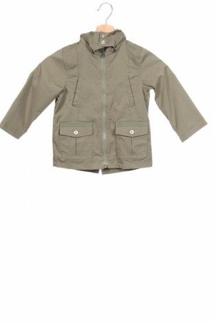 Детско яке, Размер 18-24m/ 86-98 см, Цвят Зелен, 62% памук, 35% полиамид, 3% еластан, Цена 29,40лв.