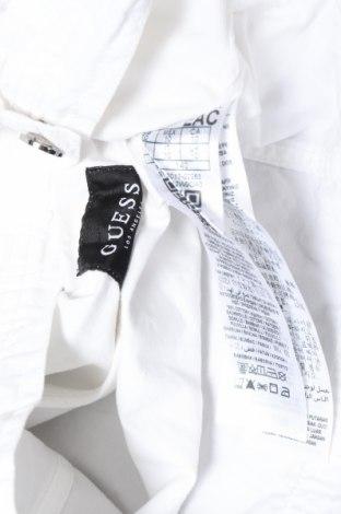 Детско яке Guess, Размер 8-9y/ 134-140 см, Цвят Бял, Памук, Цена 60,52лв.