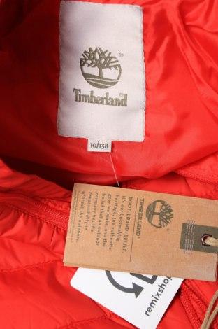 Детско яке Timberland, Размер 8-9y/ 134-140 см, Цвят Червен, Полиамид, Цена 119,25лв.