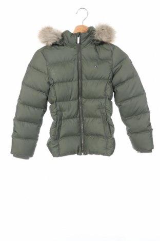 Детско яке Tommy Hilfiger, Размер 8-9y/ 134-140 см, Цвят Зелен, Полиестер, Цена 159,00лв.