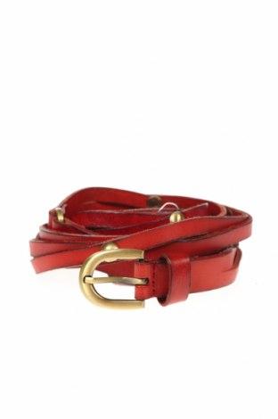 Ζώνη, Χρώμα Κόκκινο, Γνήσιο δέρμα, Τιμή 15,79€