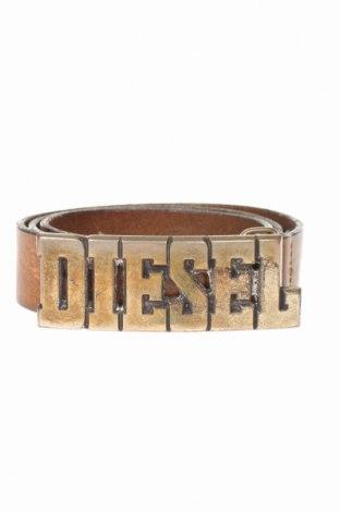 Ζώνη Diesel, Χρώμα Καφέ, Γνήσιο δέρμα, Τιμή 30,23€