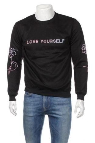 Ανδρική μπλούζα, Μέγεθος M, Χρώμα Μαύρο, 65% βαμβάκι, 25% πολυεστέρας, Τιμή 9,74€