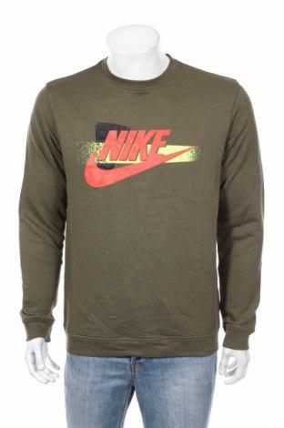 Ανδρική μπλούζα Nike, Μέγεθος M, Χρώμα Πράσινο, 80% βαμβάκι, 20% πολυεστέρας, Τιμή 26,73€