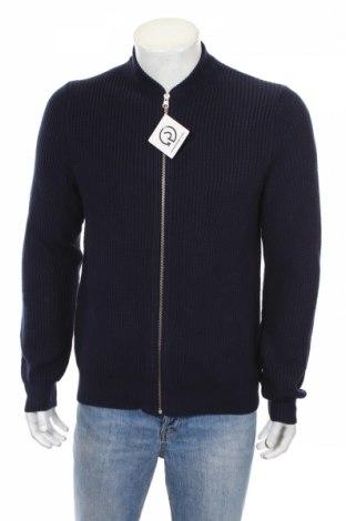 Мъжка жилетка Review, Размер S, Цвят Син, 55% памук, 45% акрил, Цена 56,00лв.