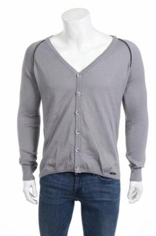 Мъжка жилетка Wessi, Размер S, Цвят Сив, 70% памук, 30% полиестер, Цена 56,00лв.