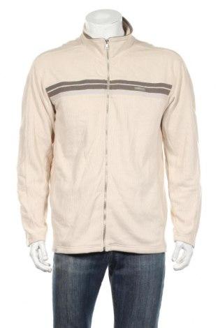 Jachetă tricotată de bărbați West Point, Mărime L, Culoare Bej, Poliester, bumbac, Preț 126,73 Lei