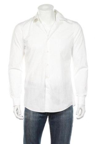 Ανδρικό πουκάμισο Boss, Μέγεθος M, Χρώμα Λευκό, Βαμβάκι, Τιμή 81,96€