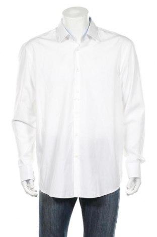 Ανδρικό πουκάμισο Boss, Μέγεθος XXL, Χρώμα Λευκό, Βαμβάκι, Τιμή 81,96€