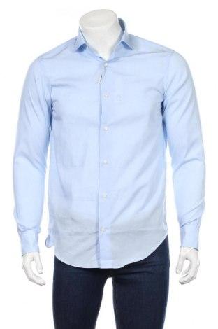 Мъжка риза Gutteridge, Размер M, Цвят Син, Памук, Цена 35,70лв.