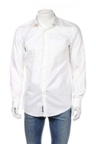 Ανδρικό πουκάμισο Hugo Boss, Μέγεθος L, Χρώμα Λευκό, 100% βαμβάκι, Τιμή 81,96€