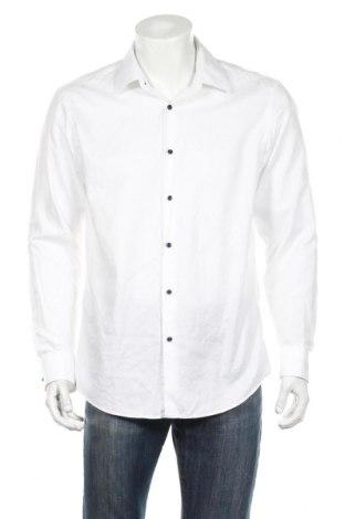 Ανδρικό πουκάμισο Hugo Boss, Μέγεθος L, Χρώμα Λευκό, 100% βαμβάκι, Τιμή 78,35€