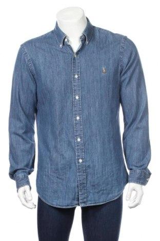 Ανδρικό πουκάμισο Ralph Lauren, Μέγεθος L, Χρώμα Μπλέ, Βαμβάκι, Τιμή 61,34€