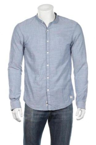 Ανδρικό πουκάμισο Tom Tailor, Μέγεθος M, Χρώμα Μπλέ, Βαμβάκι, Τιμή 25,26€