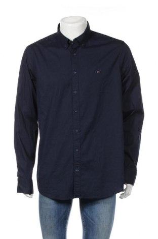 Ανδρικό πουκάμισο Tommy Hilfiger, Μέγεθος XXL, Χρώμα Μπλέ, 97% βαμβάκι, 3% ελαστάνη, Τιμή 51,03€