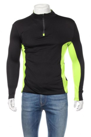 Ανδρική αθλητική μπλούζα, Μέγεθος S, Χρώμα Μαύρο, Πολυεστέρας, Τιμή 13,64€
