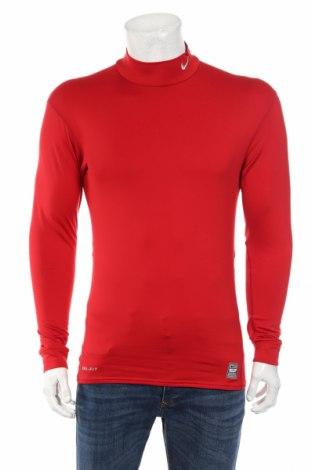 Pánske športové tričko  Nike, Veľkosť XL, Farba Červená, 88% polyester, 12% elastan, Cena  11,67€