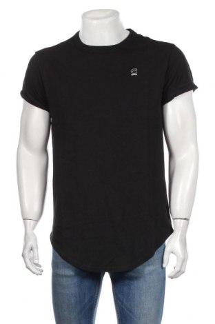 Мъжка тениска G-Star Raw, Размер M, Цвят Черен, Памук, Цена 59,04лв.