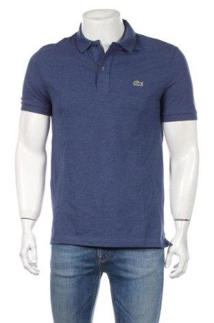 Ανδρικό t-shirt Lacoste, Μέγεθος M, Χρώμα Μπλέ, Βαμβάκι, Τιμή 33,03€