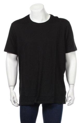 Мъжка тениска Montego, Размер XXL, Цвят Черен, Памук, Цена 25,92лв.