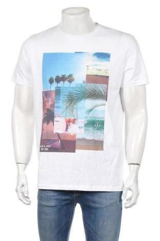 Мъжка тениска Originals By Jack & Jones, Размер L, Цвят Бял, Памук, Цена 28,08лв.