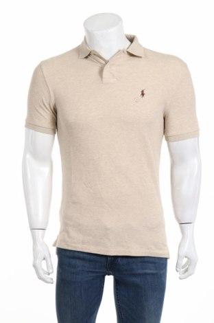 Tricou de bărbați Polo By Ralph Lauren, Mărime S, Culoare Bej, Bumbac, Preț 168,63 Lei