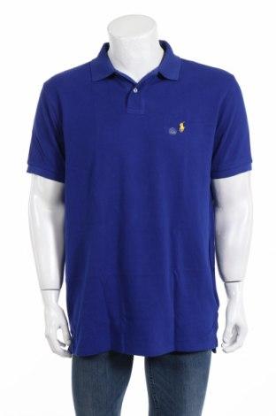 Tricou de bărbați Polo By Ralph Lauren, Mărime XL, Culoare Albastru, Bumbac, Preț 168,63 Lei
