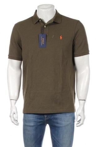 Tricou de bărbați Polo By Ralph Lauren, Mărime M, Culoare Verde, Bumbac, Preț 234,21 Lei