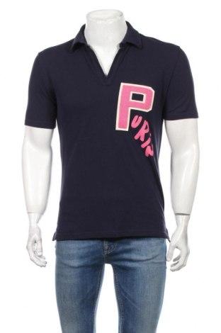 Мъжка тениска Purim, Размер XS, Цвят Син, Памук, Цена 20,80лв.