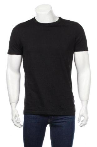 Мъжка тениска Review, Размер M, Цвят Черен, Памук, Цена 23,04лв.