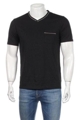 Мъжка тениска The Kooples, Размер M, Цвят Черен, Памук, полиестер, вискоза, Цена 51,84лв.