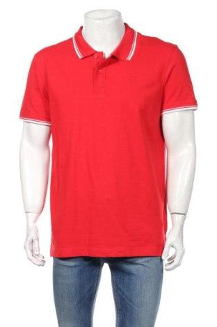 Pánske tričko  Tom Tailor, Veľkosť XL, Farba Červená, Bavlna, Cena  11,87€