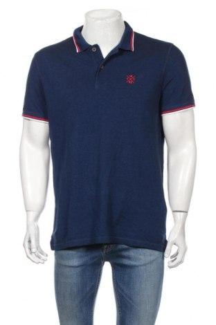 Мъжка тениска Tom Tailor, Размер M, Цвят Син, Памук, Цена 23,04лв.