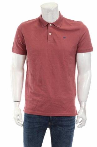 Мъжка тениска Tom Tailor, Размер M, Цвят Розов, Памук, Цена 23,04лв.
