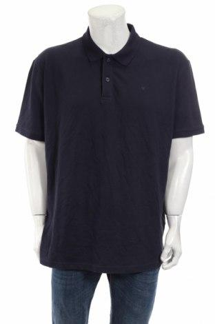Мъжка тениска Tom Tailor, Размер 3XL, Цвят Син, Памук, Цена 28,08лв.