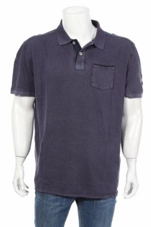 Мъжка тениска Tom Tailor, Размер XXL, Цвят Син, Памук, Цена 28,08лв.