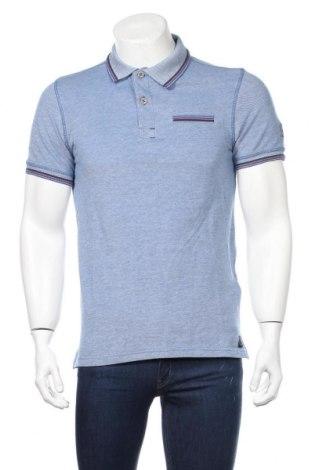 Мъжка тениска Tom Tailor, Размер S, Цвят Син, Памук, Цена 28,08лв.