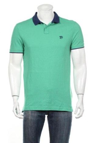Мъжка тениска Tom Tailor, Размер L, Цвят Зелен, Памук, Цена 28,08лв.