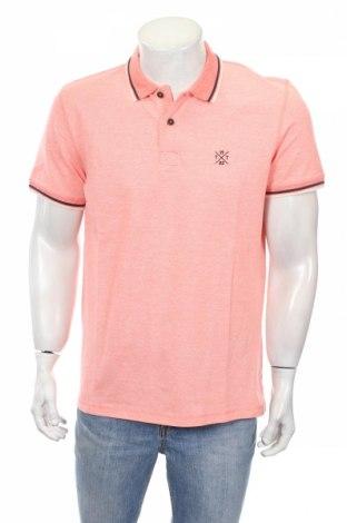 Мъжка тениска Tom Tailor, Размер L, Цвят Розов, Памук, Цена 26,00лв.