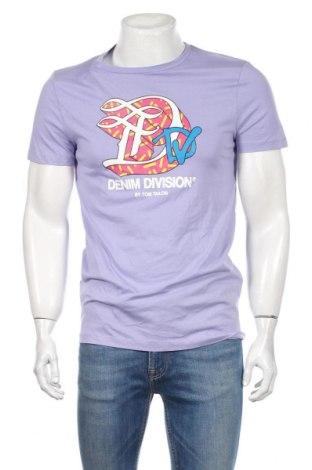 Мъжка тениска Tom Tailor, Размер M, Цвят Лилав, Памук, Цена 28,08лв.
