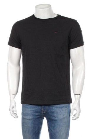 Мъжка тениска Tommy Hilfiger, Размер M, Цвят Черен, Цена 64,08лв.