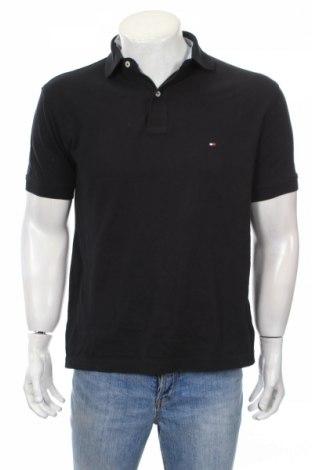 Pánske tričko  Tommy Hilfiger, Veľkosť S, Farba Čierna, 100% bavlna, Cena  17,23€