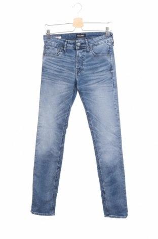 Мъжки дънки Jack & Jones, Размер S, Цвят Син, 75% памук, 23% полиестер, 2% еластан, Цена 20,16лв.