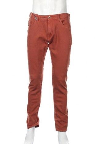 Мъжки дънки Lee, Размер L, Цвят Кафяв, 98% памук, 2% еластан, Цена 38,07лв.