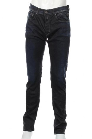 Мъжки дънки Replay, Размер L, Цвят Син, 87% памук, 9% полиестер, 4% еластан, Цена 43,22лв.