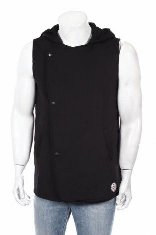 Pánska vesta , Veľkosť L, Farba Čierna, 95% polyester, 5% elastan, Cena  21,12€