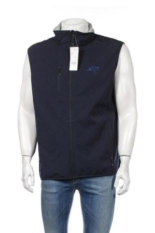 Pánska vesta  Clique, Veľkosť XL, Farba Modrá, 96% polyester, 4% elastan, Cena  27,22€