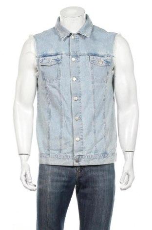 Pánska vesta  Supre, Veľkosť L, Farba Modrá, 100% bavlna, Cena  23,33€